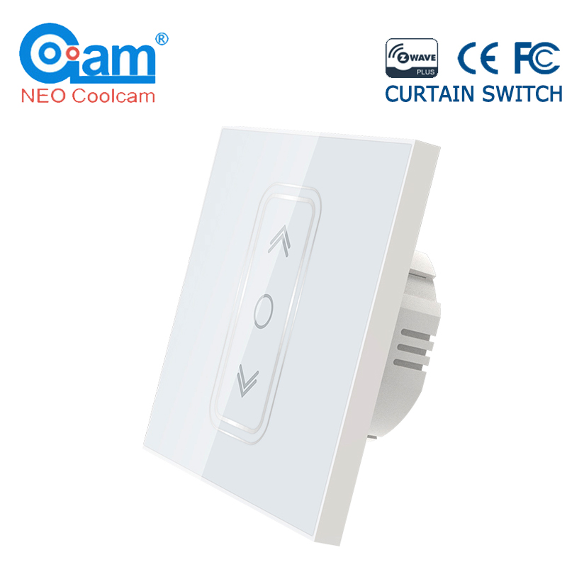 NEO Coolcam Smart Home Z Wave Plus Smart Curtain Switch for Electric Motorized Curtain Blind Roller Shutter EU 868.4Mhz