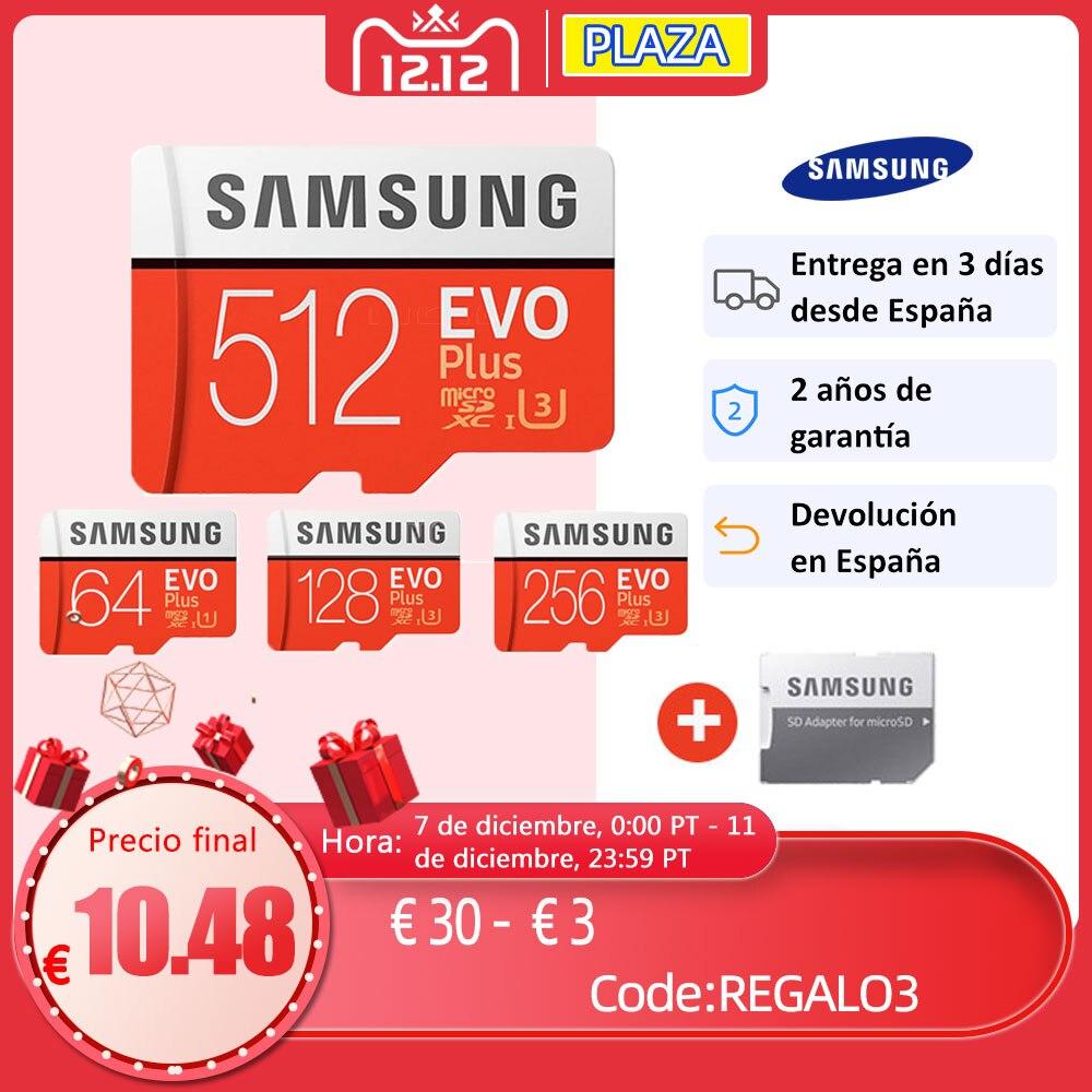 SAMSUNG Memory Card Micro SD Card 256GB 128GB 64GB Microsd Micro SD SDHC SDXC Grade EVO+ C10 UHS TF SD Cards|Memory Cards| - AliExpress