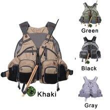 Регулируемый дышащий легкий рюкзак с жилетом для ловли окуня