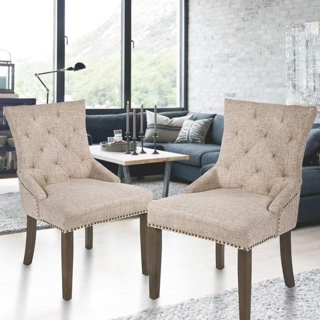 2  Padded Dining Chairs  5