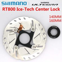 ULTEGRA SM RT800 Ice-Tech Freeza Road Bicycles Rotor 140mm 160mm CENTER LOCK Disc Brake Rotor 6800 R8000 Bicycle parts
