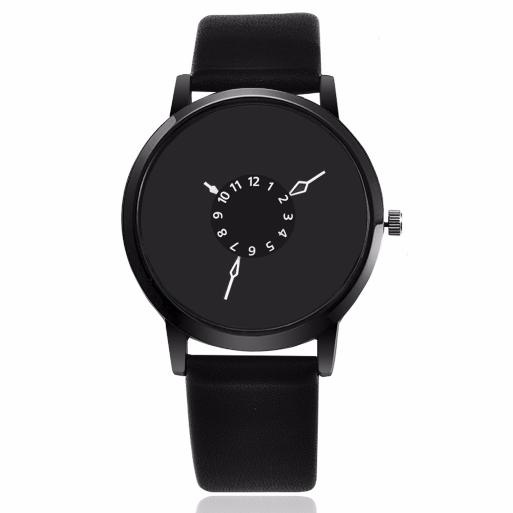 Top Fashion Luxury Brand Bracelet Watches Women Men Casual Quartz Watch Leather Dress Wristwatch 8O20