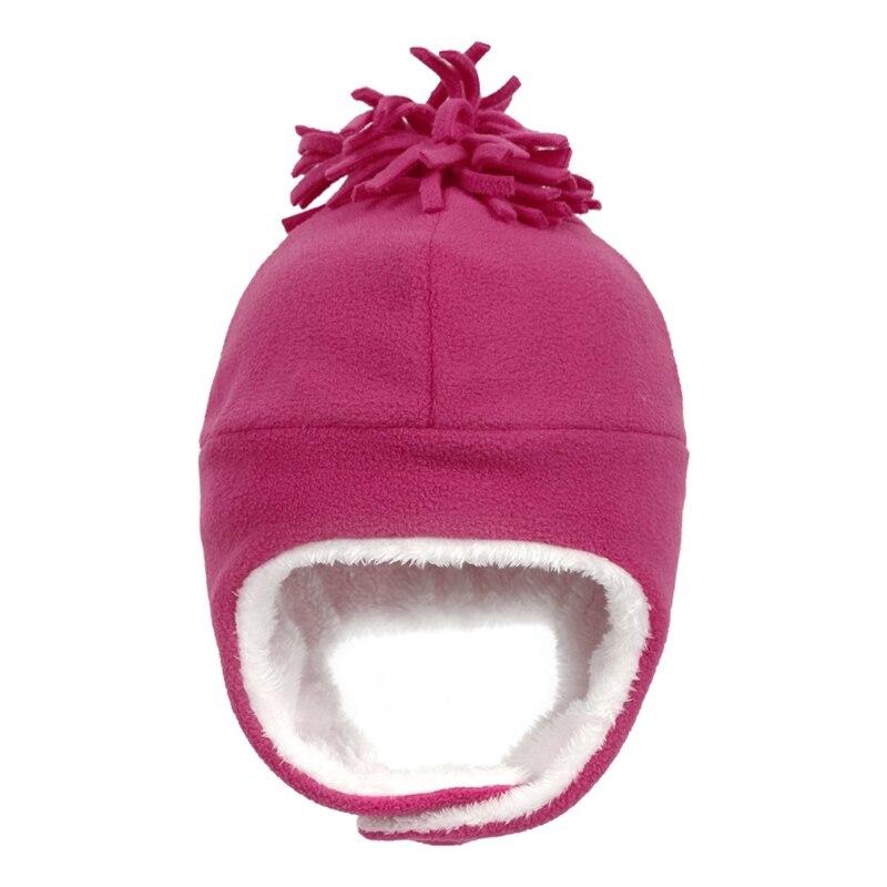 Детская зимняя шапка для маленьких мальчиков и девочек, ветрозащитная теплая шапка на флисовой подкладке для малышей, шлем летчика|Аксессуары|   | АлиЭкспресс