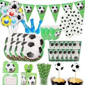 חד פעמי וקישוטים לימי הולדת כדורגל