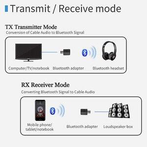 Image 2 - Bluetooth приемник VIKEFON, передатчик, мини стерео, Bluetooth 5,0, аудио, AUX, RCA, USB, разъем 3,5 мм для ТВ, ПК, автомобильный комплект, беспроводной адаптер