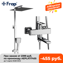 Shower-Faucets Mixer Frap Rainfall Taps Top-Quality Contemporary Torneira