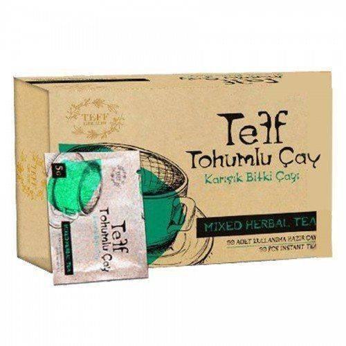 Teff Life Slim Tea Mixed Herbal Original Weight Loss Seeds 30pcs Slimming Products Pure Natural Organic Oil Blocker Thin