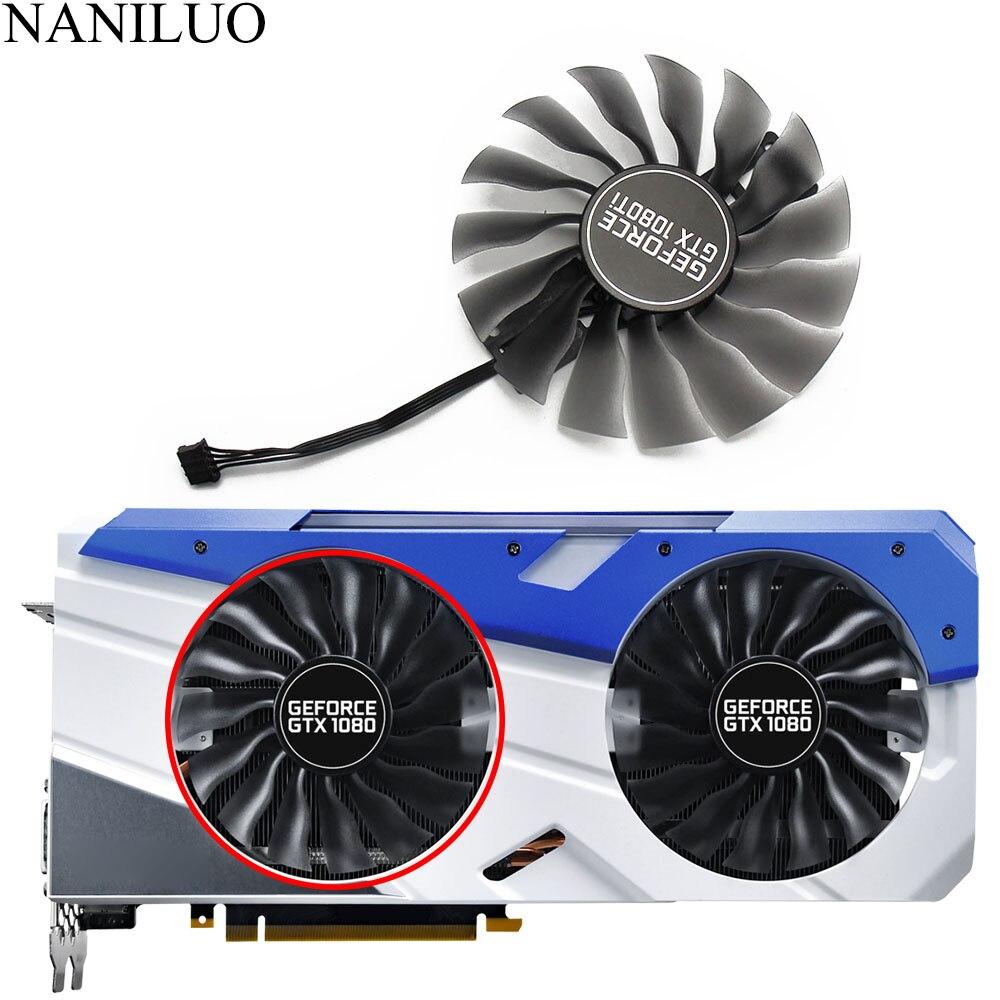 95MM(100mm) Fan GTX1080 GTX1080Ti GPU Card Cooler For Palit GTX 1080 1080Ti GameRock Cards As Replacement