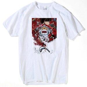 2019 Summer Short Sleeve T-Shirt Mens Tshirt Japan Anime Akira Tetsuo Kaneda Neo Tokyo Fitness T Shirt Male Clothing tops tees(China)