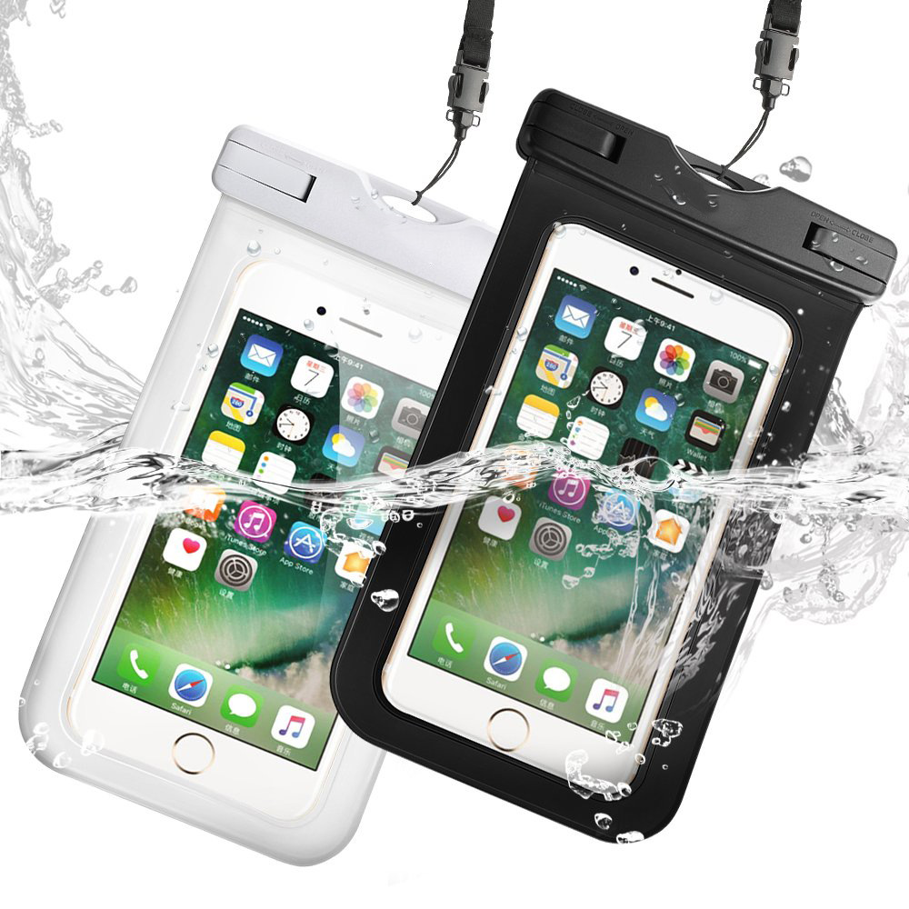 Waterproof Swimming Bag Phone Case Drift Diving Underwater Dry Bag Case Water Sports Beach Pool Skiing For Phone 6 Inch Cover