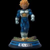 Dragon Ball GK Fighting National Saiyan Prince Super Saiyan Strong Vegeta Statue Resin Action Figure Collection Model Toys C33