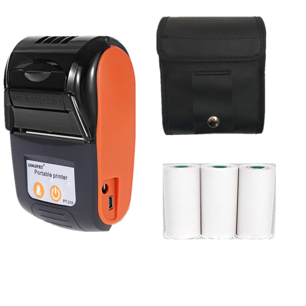 GOOJPRT новый коммерческий термальный POS принтер Мини чековый принтер для банкнот кухонные рестораны отели печатная машина Imprimante 58 мм