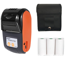 GOOJPRT New Commercial Thermal POS Printer Mini Receipt Bill Printer Kitchen Restaurants Hotels Printing Machine Imprimante 58mm