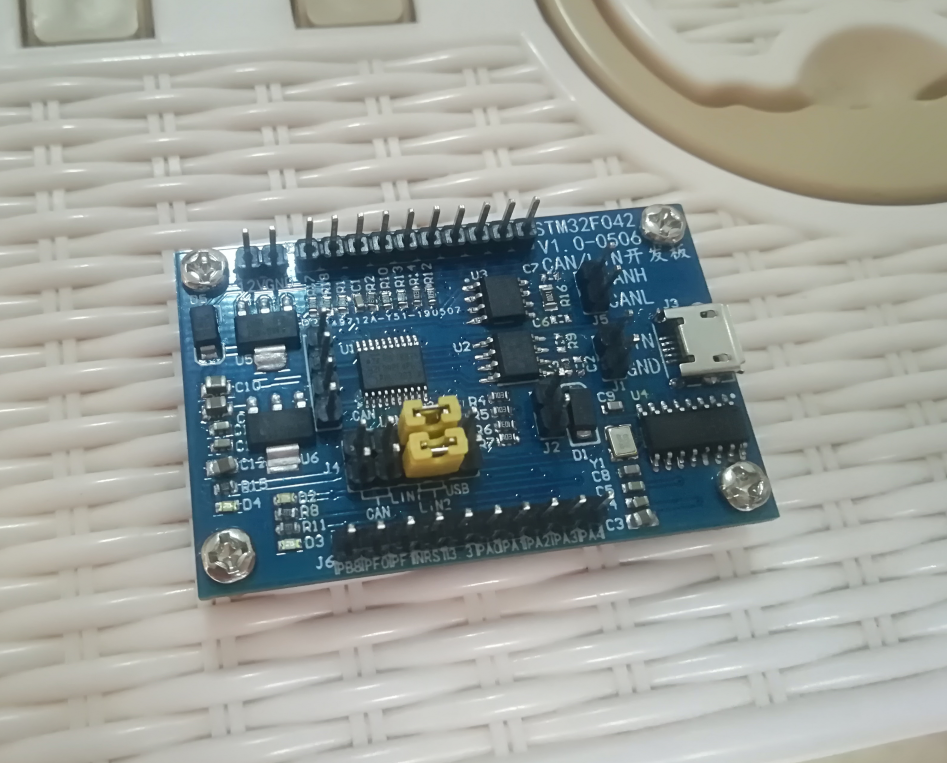 1PCS STM32F030F4P6 ARM CORTEX-M0 Core Minimum System Dev Board for Arduino