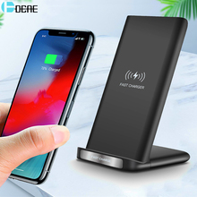 DCAE 15W Qi Wireless Charger Stand For iPhone SE 2 X XS MAX XR 11 Pro 8 Samsung S20 S10 Fast Charging Dock Station Phone Holder