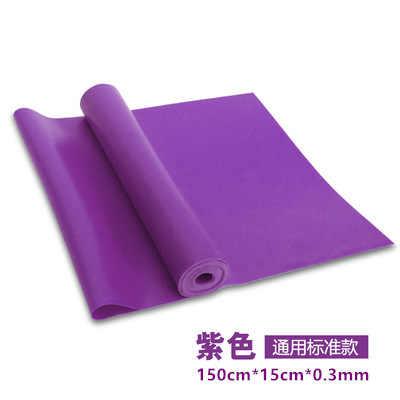 TPE Yoga Spannung Gummiband Widerstand Band Power Training Stretch Armband Ziehen Seil Yoga Hilfs Produkte