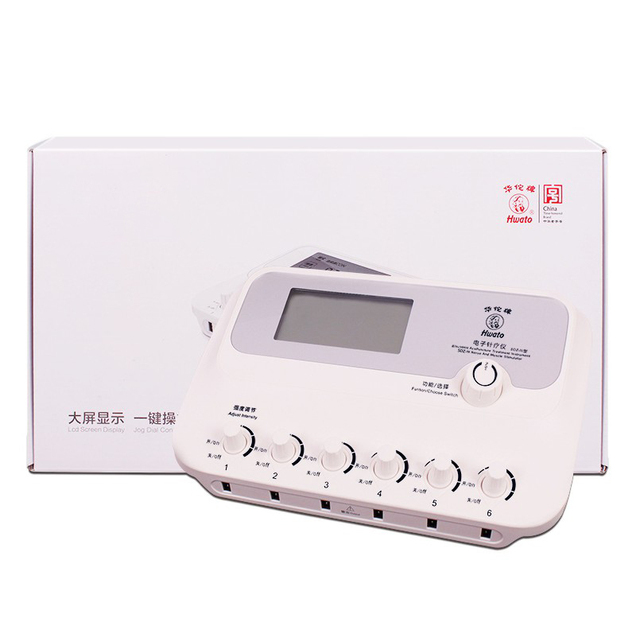 6 Channels Hwato SDZ III Low Frequency Electric stimulation massager 110 240V English Manual SDZ III