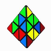 Hızlı teslimat Yongjun Yj 3x3 piramit küp bulmaca sihirli küp 3x3 üçgen piramit küp eğitici oyuncaklar çocuk erkek çocuklar için cubo