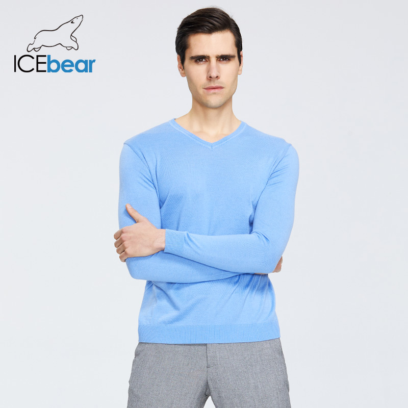 ICEbear 2020 New Spring Men's Sweater Casual Male Pullover Brand Apparel 1808