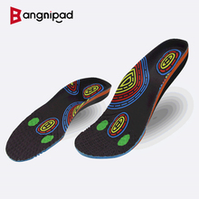 BANGNIPAD Healthy Insoles Arch Support Relieve Bone Spurs Inserts Plantar Fasciitis Heel Pain Shoe Pads For Feet Men Women