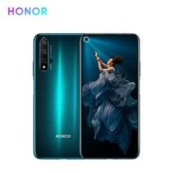 Перейти на Алиэкспресс и купить huawei honor 20 mobile phone smartphone cell phone 48mp ai quad camera 6.26дюйм. fullview display 4000mah all-day battery dual sim