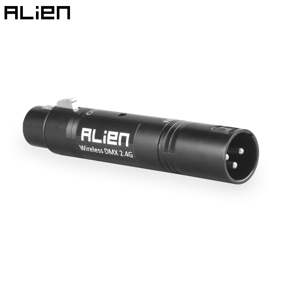 ALIEN DMX512 3 Pin XLR Mutifunctional Optical Repeater Signal Amplifier Input To Output For DJ Disco Laser Stage Equipment Light