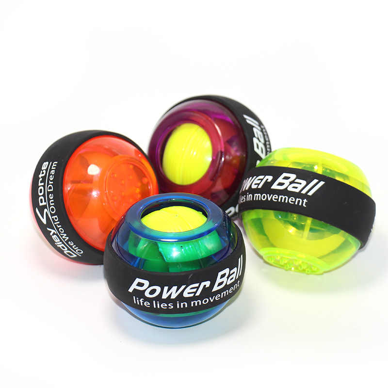 Pols Led Ball Trainer Gyroscoop Strengthener Gyro Power Ball Power Ball Arm Uitoefenaar Oefening Machine Gym Fitness Apparatuur