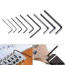 9Pcs Guitar bass neck bridge screw truss rod adjustment wrench set