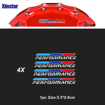 4pcs Stainless Steel Car Brake Calliper Sticker For BMW E36 E39 E46 E60 E6 E70 E71 E85 E87 E90 E83 F10 F20 F21 F30 M3 M5 M4 Z4 image