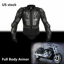 Motorcycle Jacket Full Body Armor Motocross Jacket Vest Spine Chest Protection Armadura Moto Bike Back Armor S M L XL XXL XXXL s m l xl xxl xxxl jk006 motorcycle full body protect jacket motocross racing protector clothing armour web materials breathable