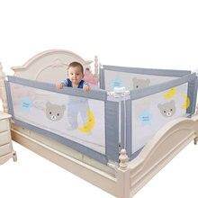 Łóżeczko dziecięce bariera ogrodzeniowa barierka ochronna bezpieczeństwo składany kojec dziecięcy na łóżku ogrodzenie brama szopka regulowane szyny dziecięce