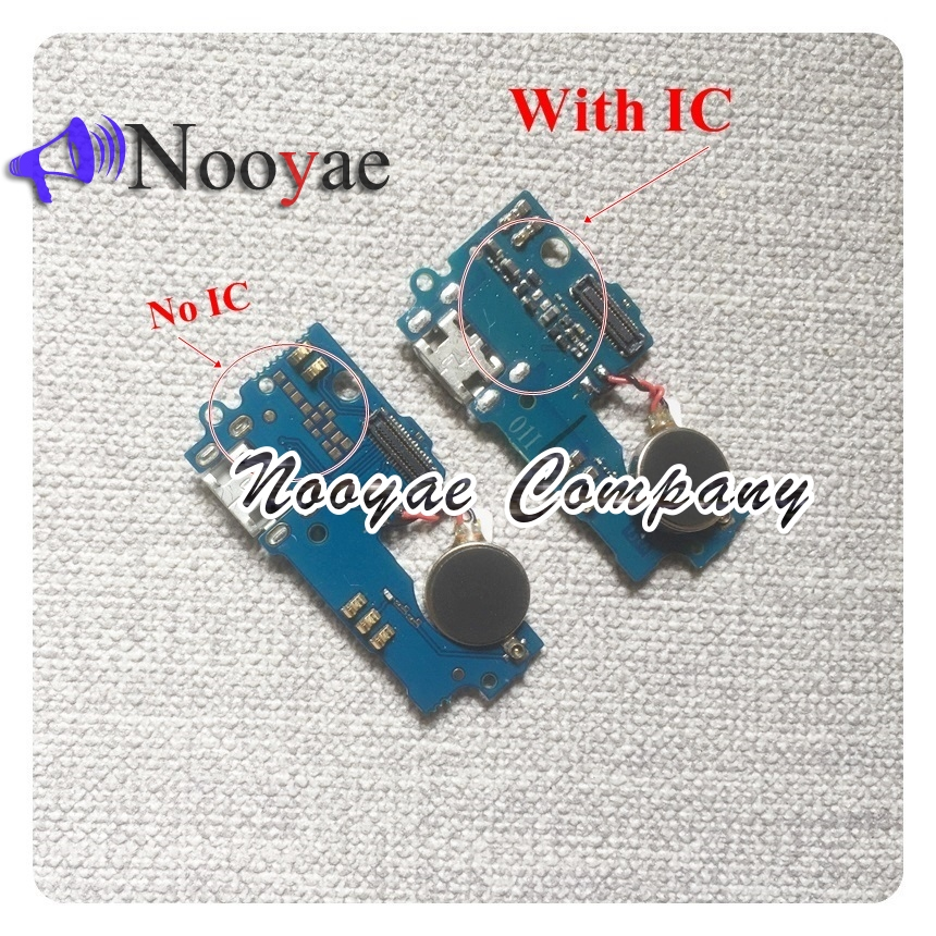 For ZTE Blade A510 USB Dock Charger Charging Port Connect Connector Flex Cable Microphone Vibrator With No IC Board