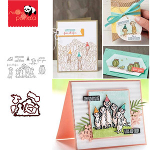 MP054 get-together Metal Cutting Dies and Stamps for DIY Scrapbooking Album Paper Cards Making Crafts English version(China)