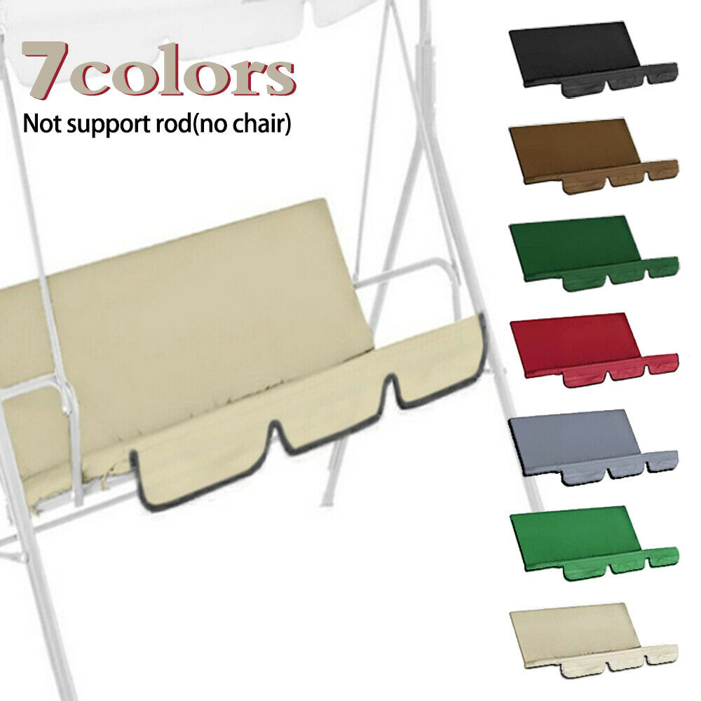 New Outdoor Garden 3 seat chair swing canopy cover shadow patio net tent cover seal resistant UV proof dfade water does not fade