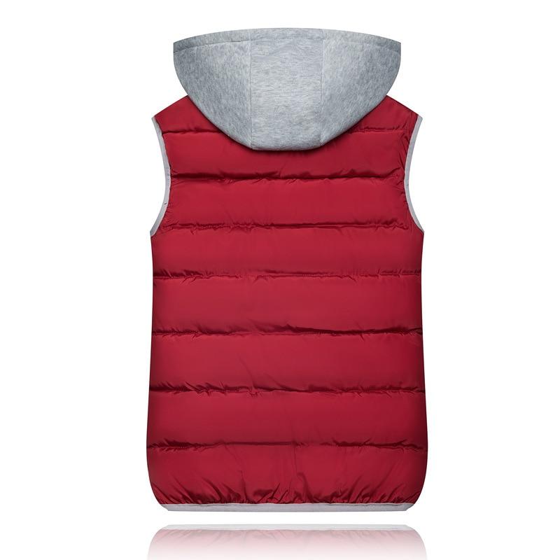 H4314c24970f24011980032045af3d10dD 2019 Winter Coat Women Hooded Warm Vest Plus Size Candy Color Cotton Jacket Female Women Wadded Feminina chalecos