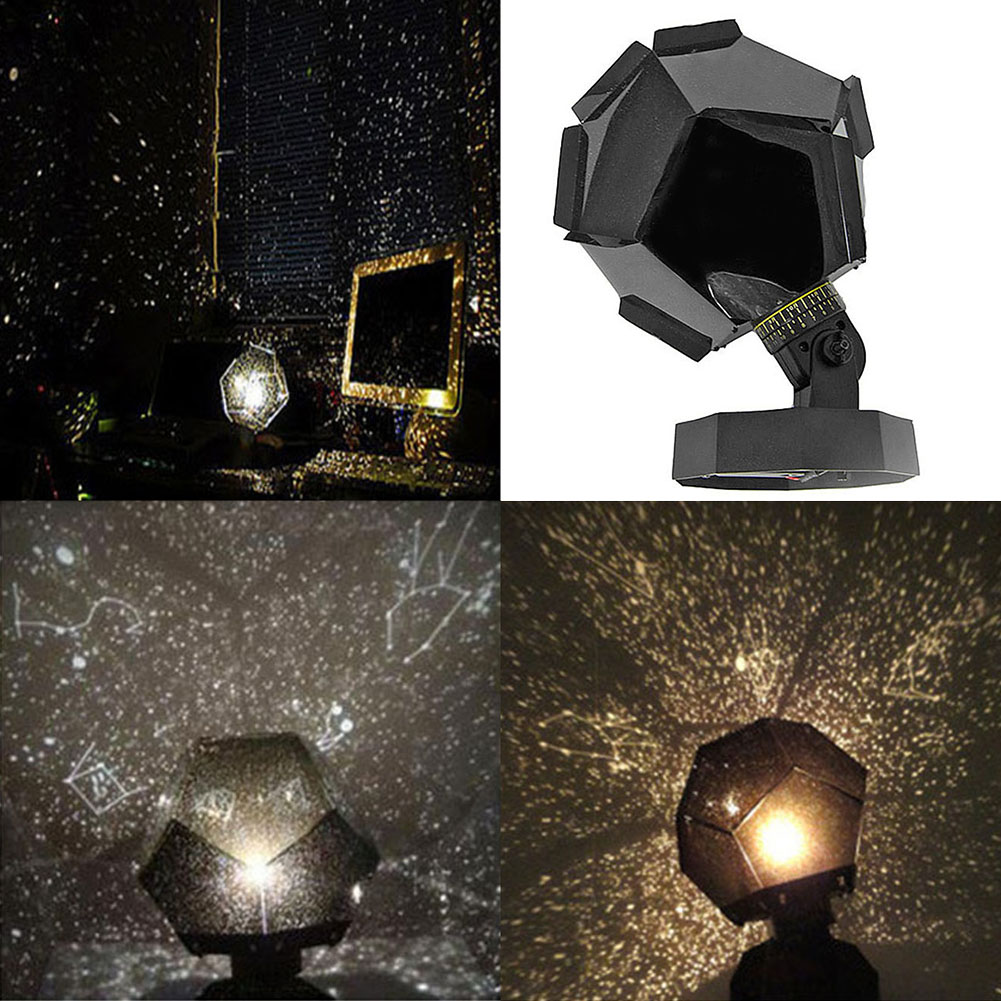 Creative LED Projection Lamp Starry Sky Projection Night Light Cosmos LED NightLights Lamp Kid's Gift Home Bedroom Decoration