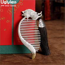 Combs Jewelry Designer Packing-Hair Silver Women Uglyless for Gift Rope Spike Miss-Fox-999