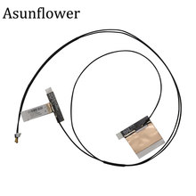 Asunflower 1 Pair M.2 Antenna Mini PCI-E Wireless Wifi MHF4 Laptop/Embedded Dual Band Antenna For NGFF WIFI WLAN Bluetooth(China)