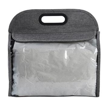 Pyłoszczelna przenośna torebka do przechowywania torby przeciwpyłowe przezroczyste wiszące torby na szafy ochronne etui do przechowywania bagażu tanie i dobre opinie 436878 Stałe Drukowane Mieszanie Nowa klasyczna po nowoczesne Oxford Fabric