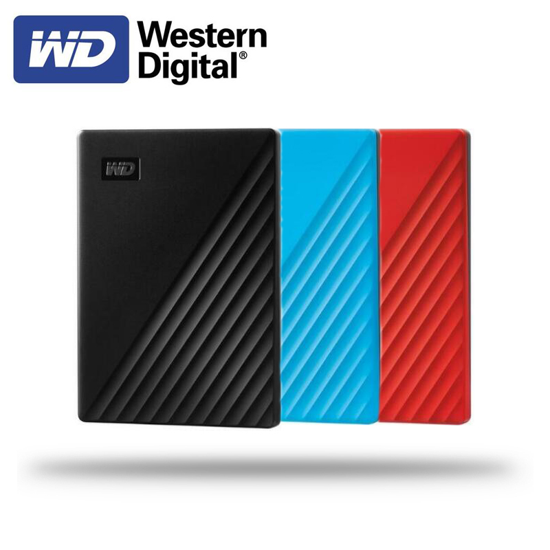 Western Digital WD My Passport <font><b>1TB</b></font> 2TB 4TB <font><b>External</b></font> Hard Drive Disk WD Backup software and password protection <font><b>HDD</b></font> image
