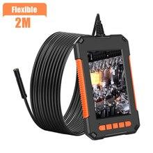 Lcd-Display-Screen Camera Industrial-Endoscope IP67 Handheld Waterproof 8mm P40 Lens