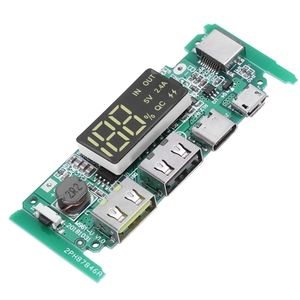 Image 4 - Boost 5V High Pass Qc3.0 Fast Charging Press Board With Digital Power Display Mobile Power Circuit Board
