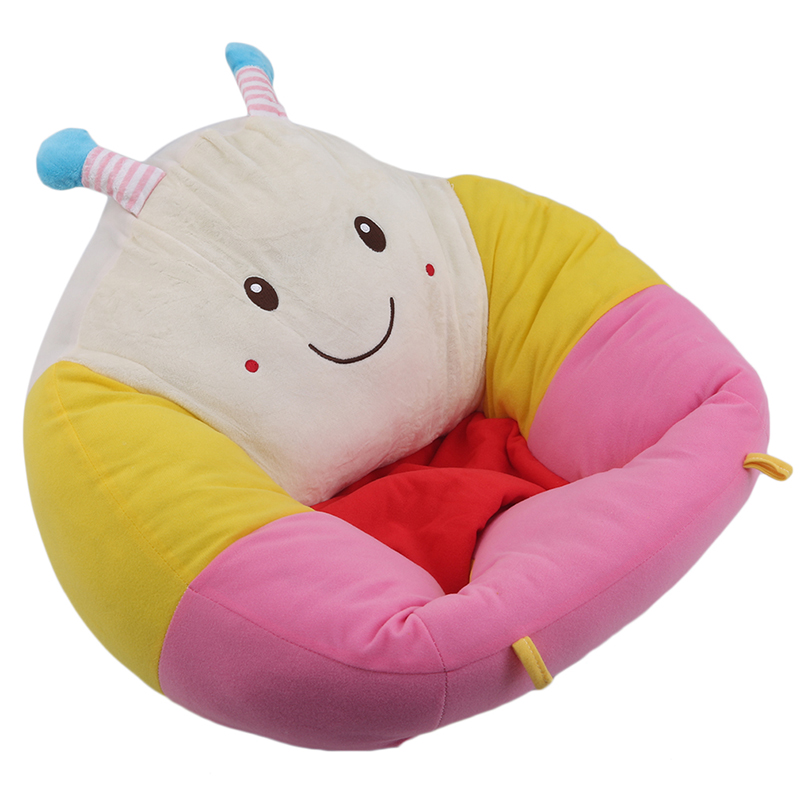 Baby Sofa Support Seat Cover Plush Chair Learning To Sit Toddler Infant Nest Puff Washable Soft Filler Cradle Sofa Chair