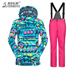 Image 5 - Winter Suit Ski Jacket Ski Suit Women Winter Jacket Female Snowboard Jacket Skiing Sport Suit Waterproof Snowboarding Snow Suit