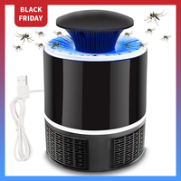 Meijuner lampa przeciw komarom USB elektryczny bez hałasu brak promieniowania do zabijania owadów lotnicze lampa owadobójcza przeciw komarom domu lampy B021