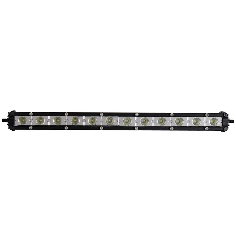 Vectra Cross-country Auxiliary Lighting 36 W Car Modification To Shoot The Light LED Single Strip Light Ultrathin Model
