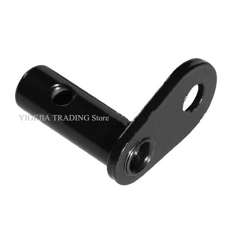 90 Degree Angle Bike Trailer Hitch Coupler, Steel Trailer Connector With Quick Release, Bicycle Trailer Linker