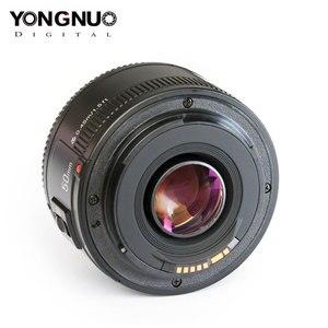 Image 2 - Dorigine YONGNUO YN50mm F1.8 Objectif Pour Nikon D800 D300 D700 D3200 D3300 D5100 Objectif Dappareil Photo REFLEX NUMÉRIQUE Pour Canon EOS 60D 70D 5D2 5D3 600D