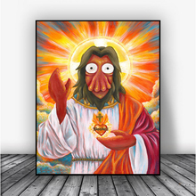 Futuramaes Zoidberges Jesuses Canvas Prints Wall Art Picture Modular Paintings For Living Room Poster On The Wall Home Decor