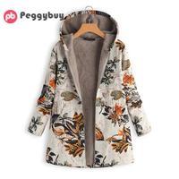 Женские зимние куртки большого размера, плюшевые тонкие осенние парки с длинным рукавом, повседневная куртка на молнии, флисовые парки разм...
